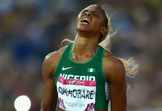 nigeria out of womens 200 in RIO