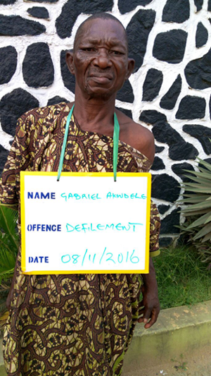70 Year Old Man Arrested For Defiling An 8 Year Old  Girl