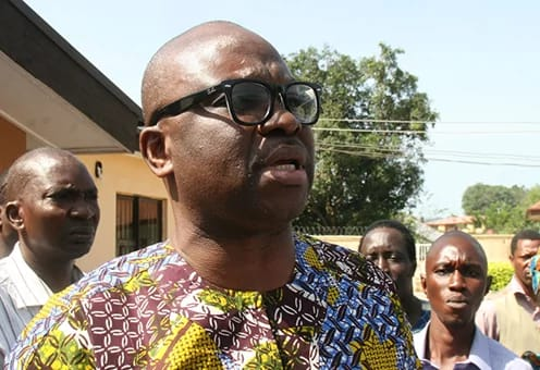 FAYOSE's Account Must Be UnFrozen  (EFCC Ordered His Bank)