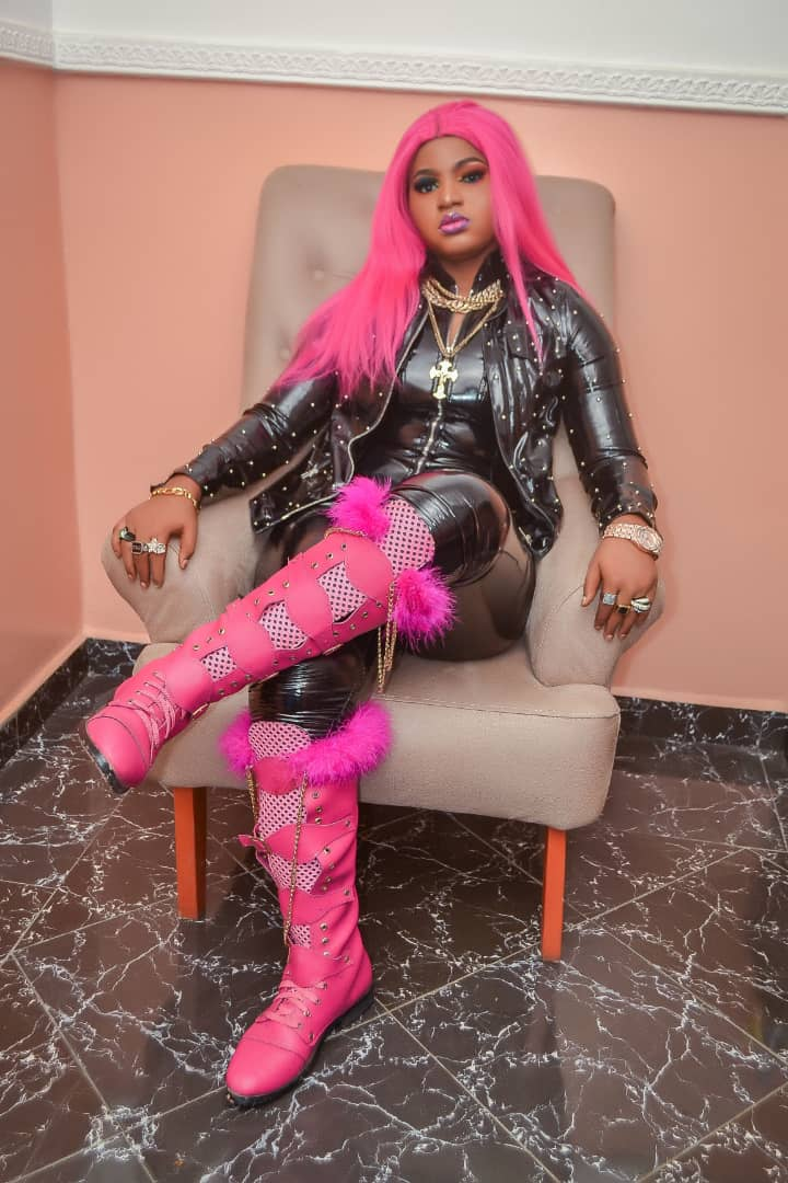 Meet Nigeria Female Rapper NICKI B ( Rap Goddesses ) As She Dazzle's In Photos And Shows Her Life Style