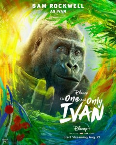 MOVIE: The One and Only Ivan (2020)