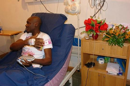 See How 22 Bullets Were Removed Tuface Idibia's Body After He Was Almost Assasinated in 2007 (Photo