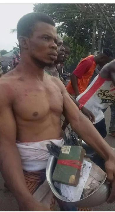 Pastor Caught With Human Head, Charms Inside His Church In Anambra