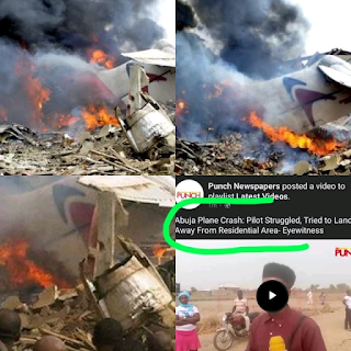 NEWS: The Pilot That Just Died In A Plane Crash, See What He Did Before He Died That Made Him A Hero
