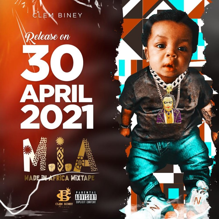 """Ghanaian Rapper """"Clem Biney"""" set to release a new Mixtape Album dubbed """"Made In Africa"""" (M.I.A)"""