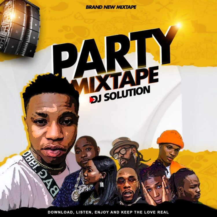 DJ Solution – Party Mix ( Mp3 Download